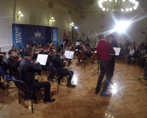 Зрењаниснки оркестар 30.10.2019. у Градској кући